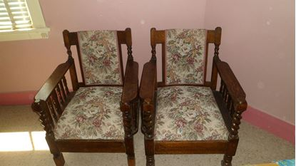 Picture of Antique Chairs -Jacobean