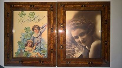 Picture of Italian Picture Frame -Parketry