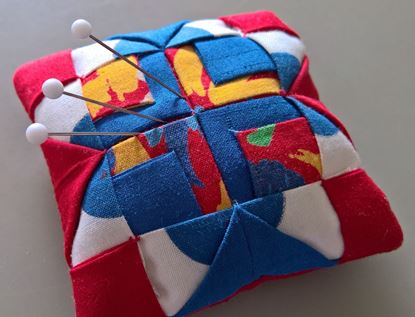 Picture of Patchwork Pin Cushion