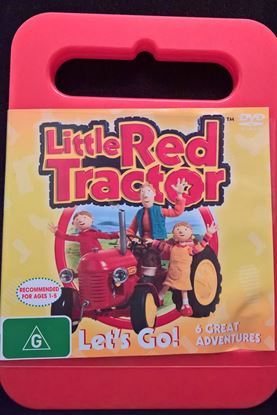 "Picture of The little Red Tractor ""Lets Go"""