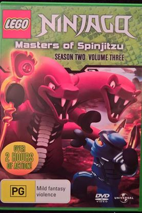 Picture of DVD Ninjago Masters of Spinjitzu