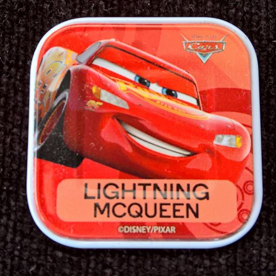 Picture of Woolworths Disney Tile LIGHTNING MCQUEEN