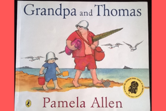 """Picture of """"Grandpa and Thomas"""""""