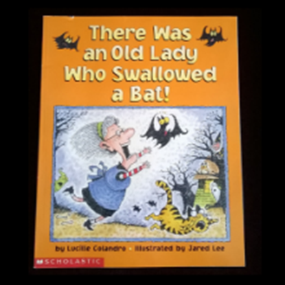 "Picture of ""There was an Old Lady who Swallowed a Bat"""