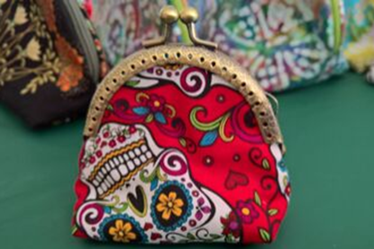 Picture of Purse - Day of the Dead