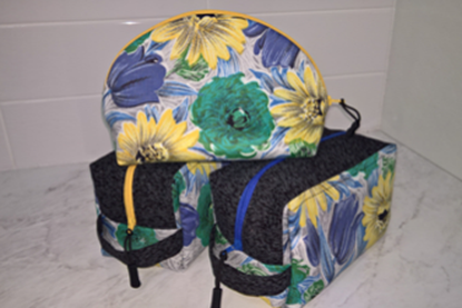 Picture of Pouch - 1950s Floral Set 3