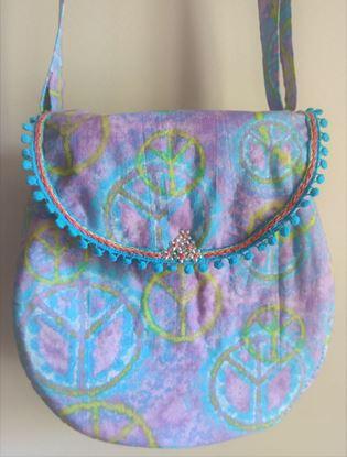 Picture of 1970's Blue shoulder bag