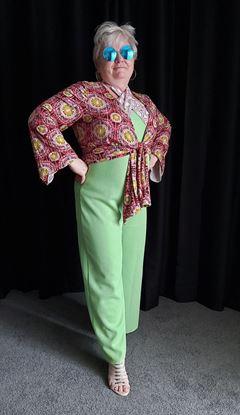 Picture of 1970s Retro ABBA Pants Halterneck